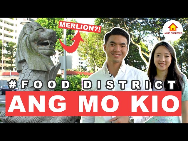 Ang Mo Kio Best Food and Sights for Dates | Food District Ep 1