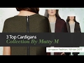 3 Top Cardigans Collection By Matty M Amazon Fashion, Winter 2017