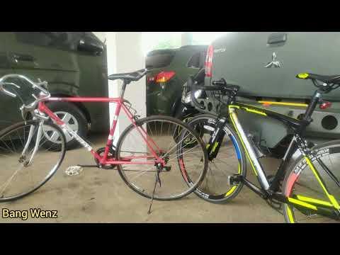 Review Sepeda Balap Jadul Olympic Federal Miyata Vintage Sepedabajul Bajul Youtube