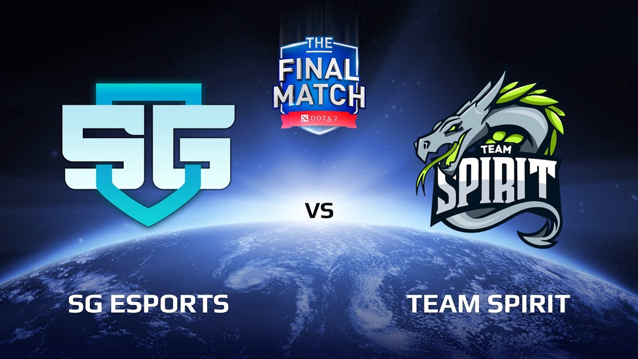 SG eSports vs Team Spirit, Game 1, The Final Match LAN-Final, Play-Off