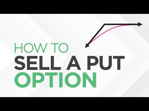 How To SELL A PUT Option - [Option Trading Basics]