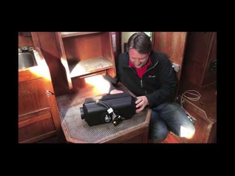 4kw Diesel Hot Air Heater 12v - Planar 44D