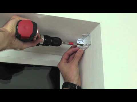 How to install blinds - inside mount installation