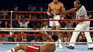"""George Foreman vs Muhammad Ali """"Rumble in the Jungle"""" Last Round *Faded By Alan Walker*"""