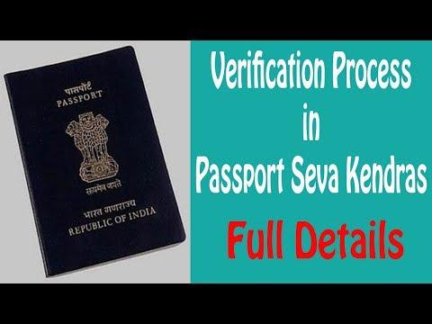 Passport verification process in passport seva kendra   ShoutMe360