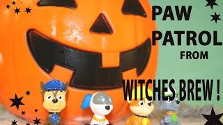 GIANT PUMPKIN SURPRISE Witches Brew - MagicalSurprise Paw Patrol Toys -Kids Scared Prank