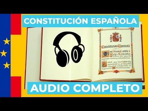 CONSTITUCION ESPAÑOLA | AUDIOLIBRO COMPLETO