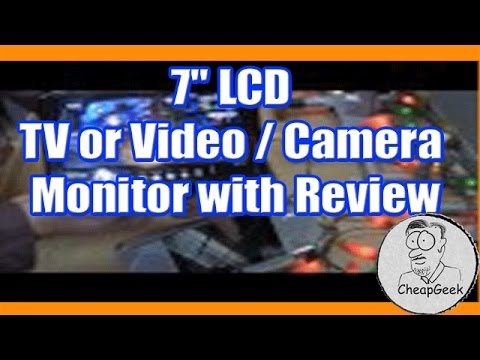 "7""-lcd-tv-or-video-/-camera-monitor-with-review"