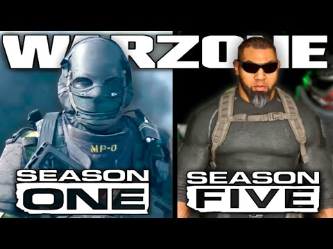 Call Of Duty Modern Warfare Warzone Official Season Five Trailer Youtube