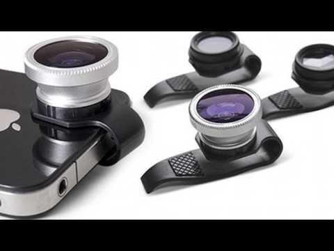Tilbehør og opgradering › Smartphoneoptikker, linser og zoom