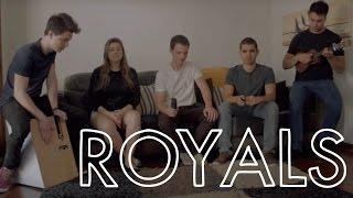 ROYALS - Lorde (Parallel Walk Cover) ft. Sofia Machado
