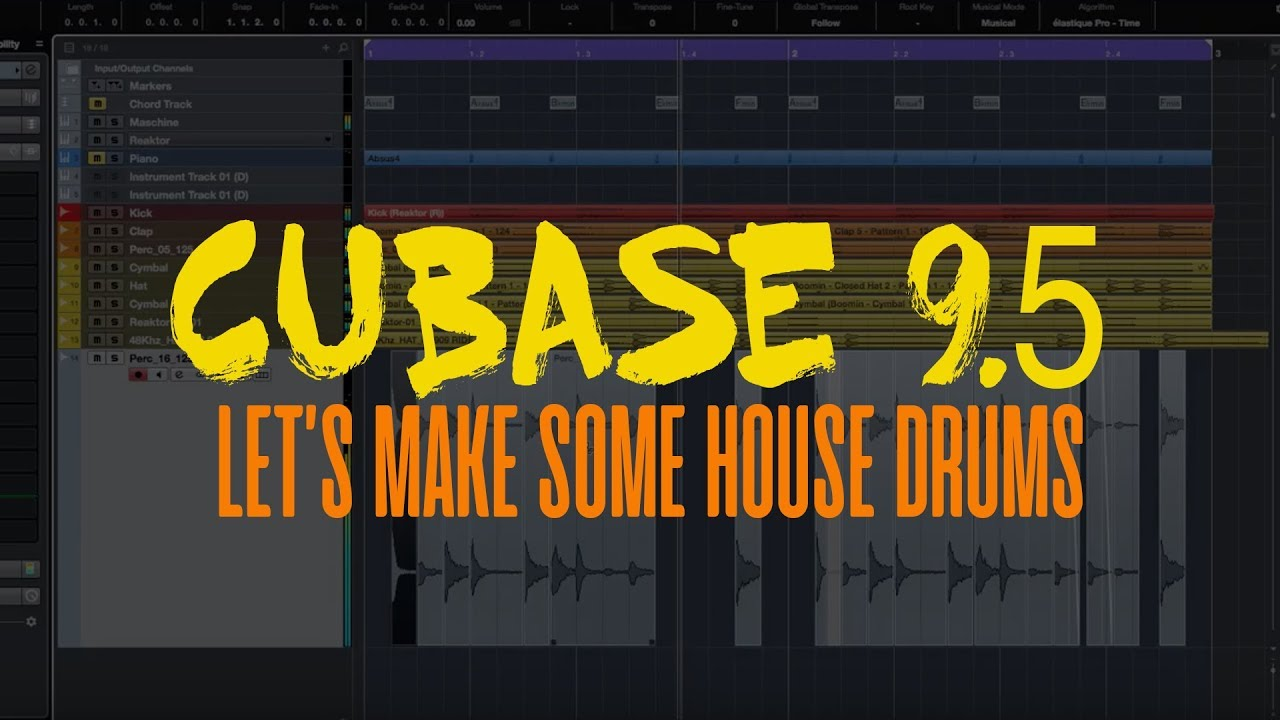 how to use cubase 9