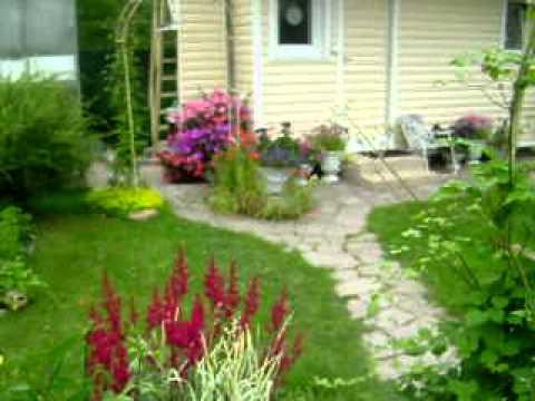видео: Дизайн  сада Марины Маковой  2011 год.