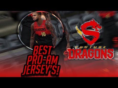 NBA 2k18 Best Pro am Jersey's / New Team?