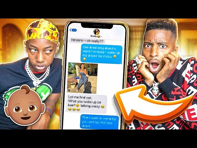 CATFISHING My Lil Brother CRUSH (WONT BELIEVE WHAT I FOUND OUT)👶💔