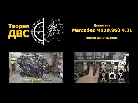 Фото к видео: Теория ДВС - Двигатель Mercedes M119.960 4.2L (обзор конструкции)