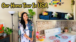 அமெரிக்காவிலே நம்ம வீடு/ Our Home Tour in USA/ Our New Apartment Tour in California#Tamil Vlog