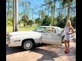 SOLD!!!1978 CADILLAC ELDORADO BIARRITZ W/ACTUAL MILES!!! REVIEW W/MARYANN!!!