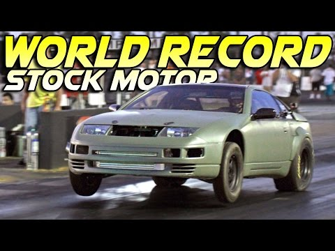 Quickest STOCK MOTOR 300ZX In The World!!!