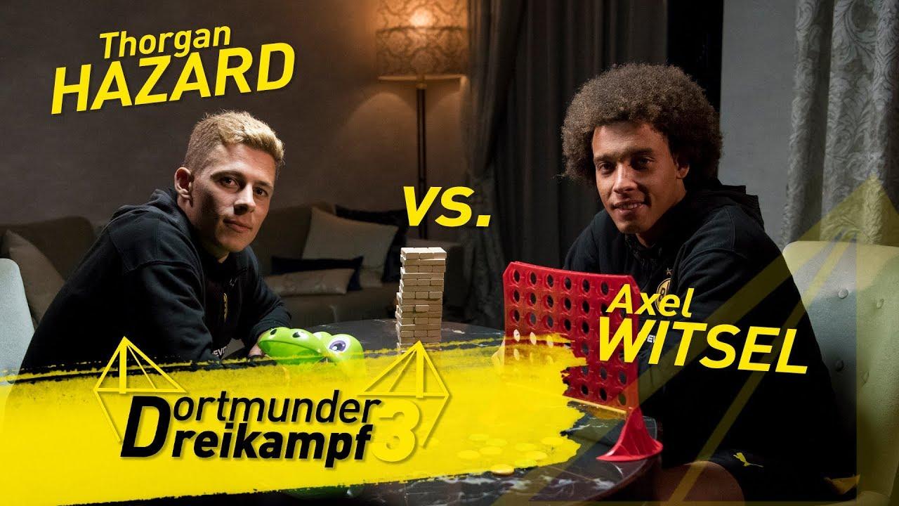 "Schmelzer vs. Piszczek | Dortmunder Dreikampf -""Kroko Doc"", ""Jenga"" & ""Vier gewinnt"""