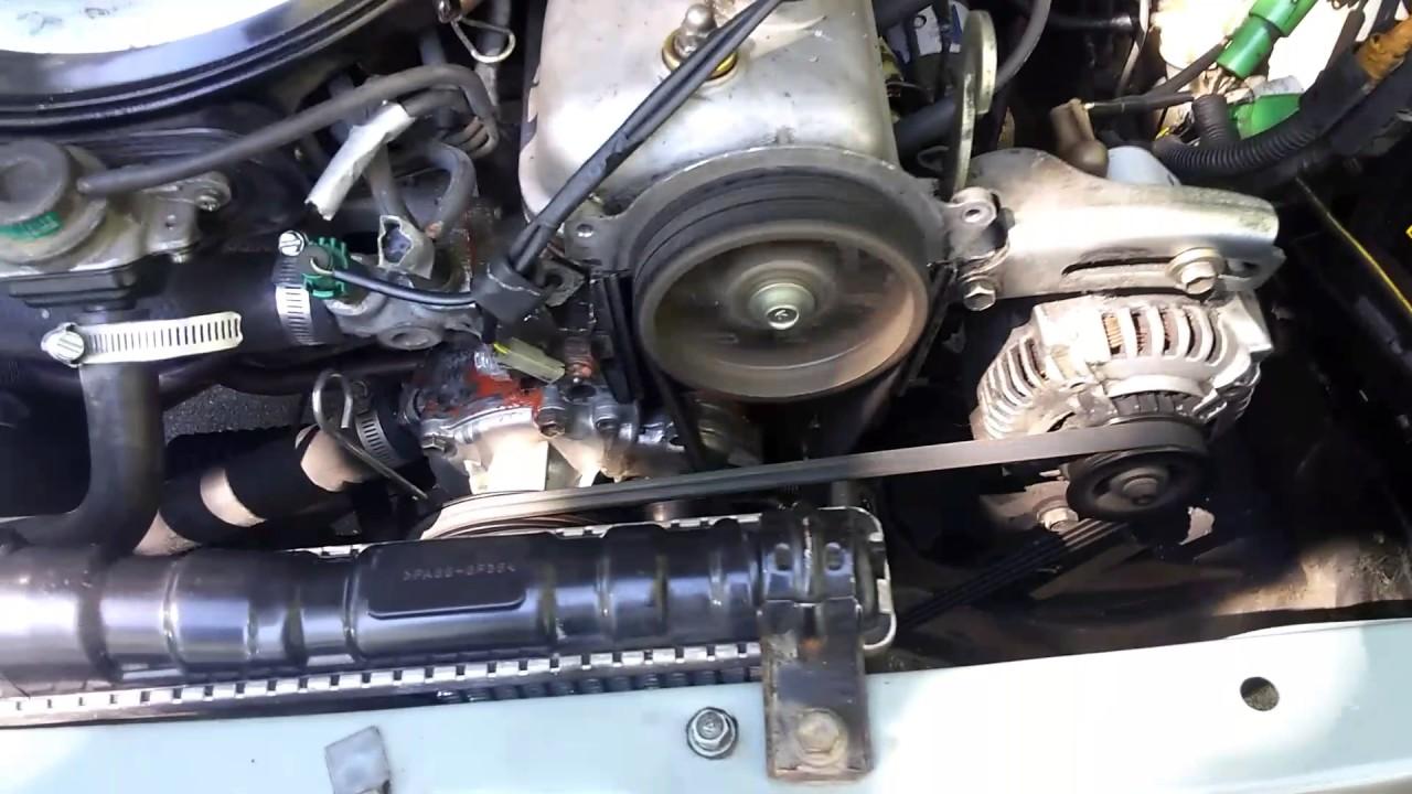 Toyota Tercel 3ac Engine