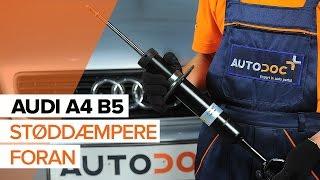 Nybegynder video vejledning til de mest almindelige Audi A4 B6 Avant reparationer