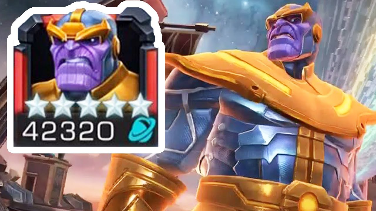 Marvel contest of champions 5 star many