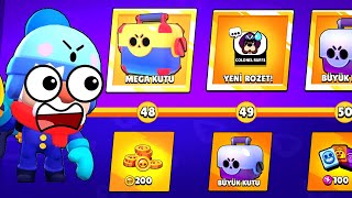IF YOU ARE RENEWAL, GO FOR 2 STAGES Brawl Stars Penalty Box Opening