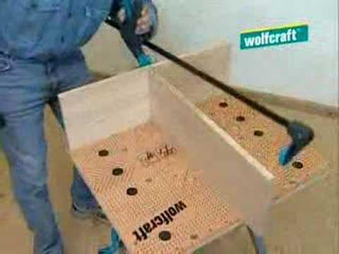 wolfcraft undercover jig youtube. Black Bedroom Furniture Sets. Home Design Ideas