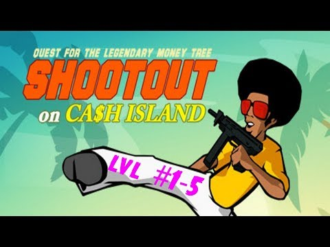 Shootout On Cashland full walkthrough #1-5