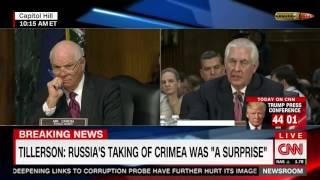 Кандидат на пост Госсекретаря США: Россия силой взяла Крым. Русский перевод.