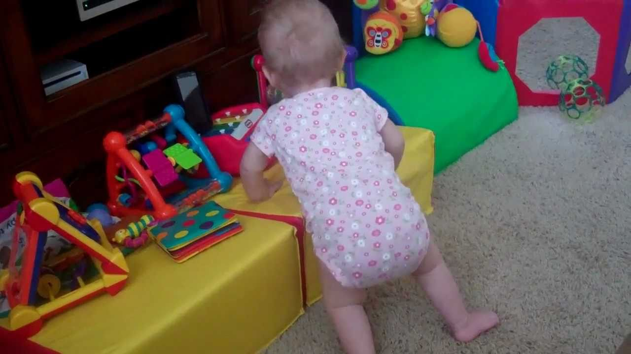 Baby With Spina Bifida Is Standing Youtube