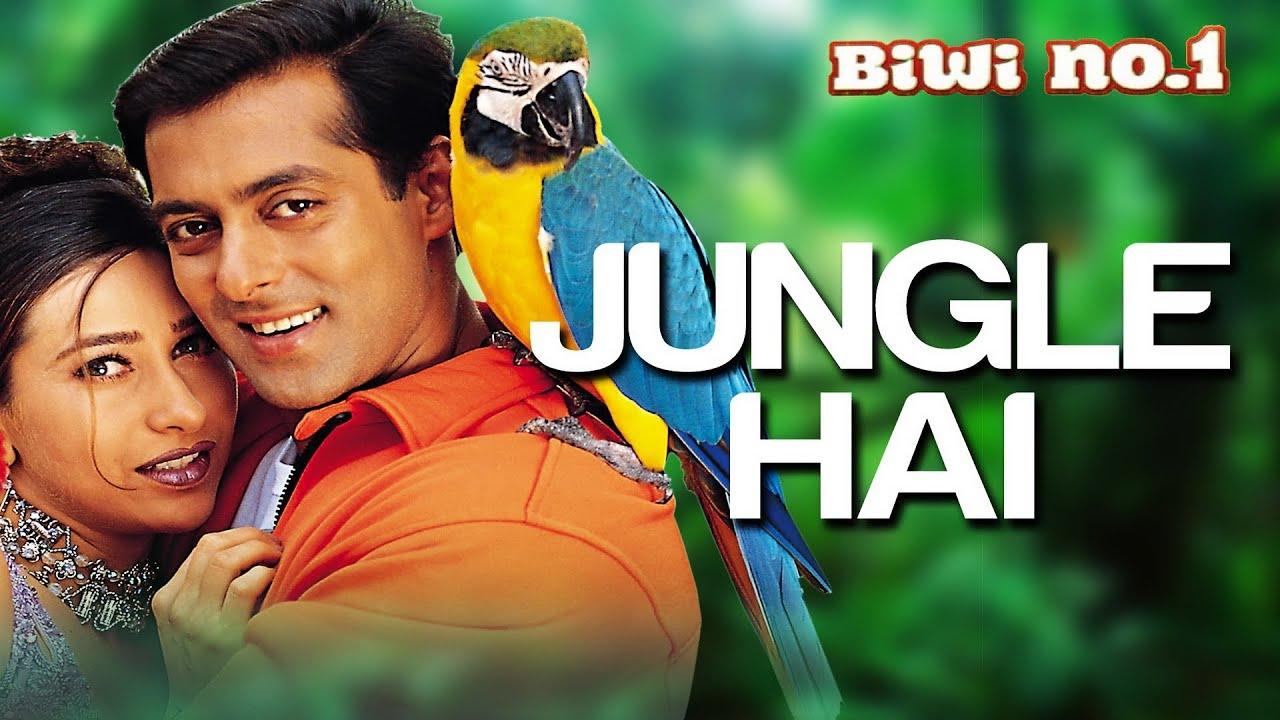 Jungle Hai Aadhi Raat Hai | Salman Khan & Karisma Kapoor | Anu Malik | Biwi No 1 | 90's Hindi Song