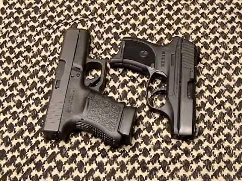 Glock 36 Vs Ruger Lc9 Size Comparison