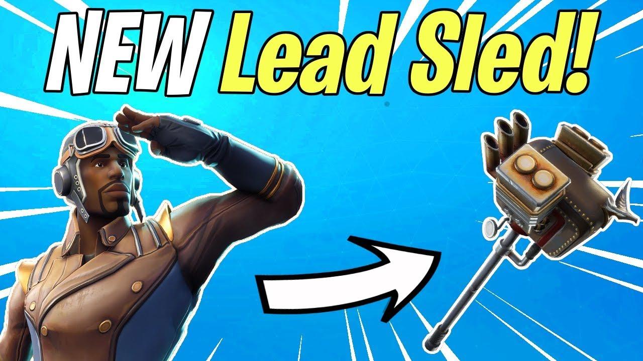 New Lead Sled Sledgehammer Rat Rod Weapon Set Melee Fortnite Save The World News