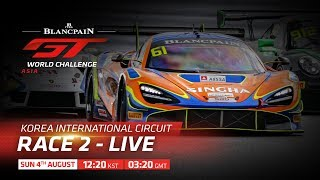 LIVE: BLANCPAIN GT ASIA & BRITISH GT   Dreamsports tv