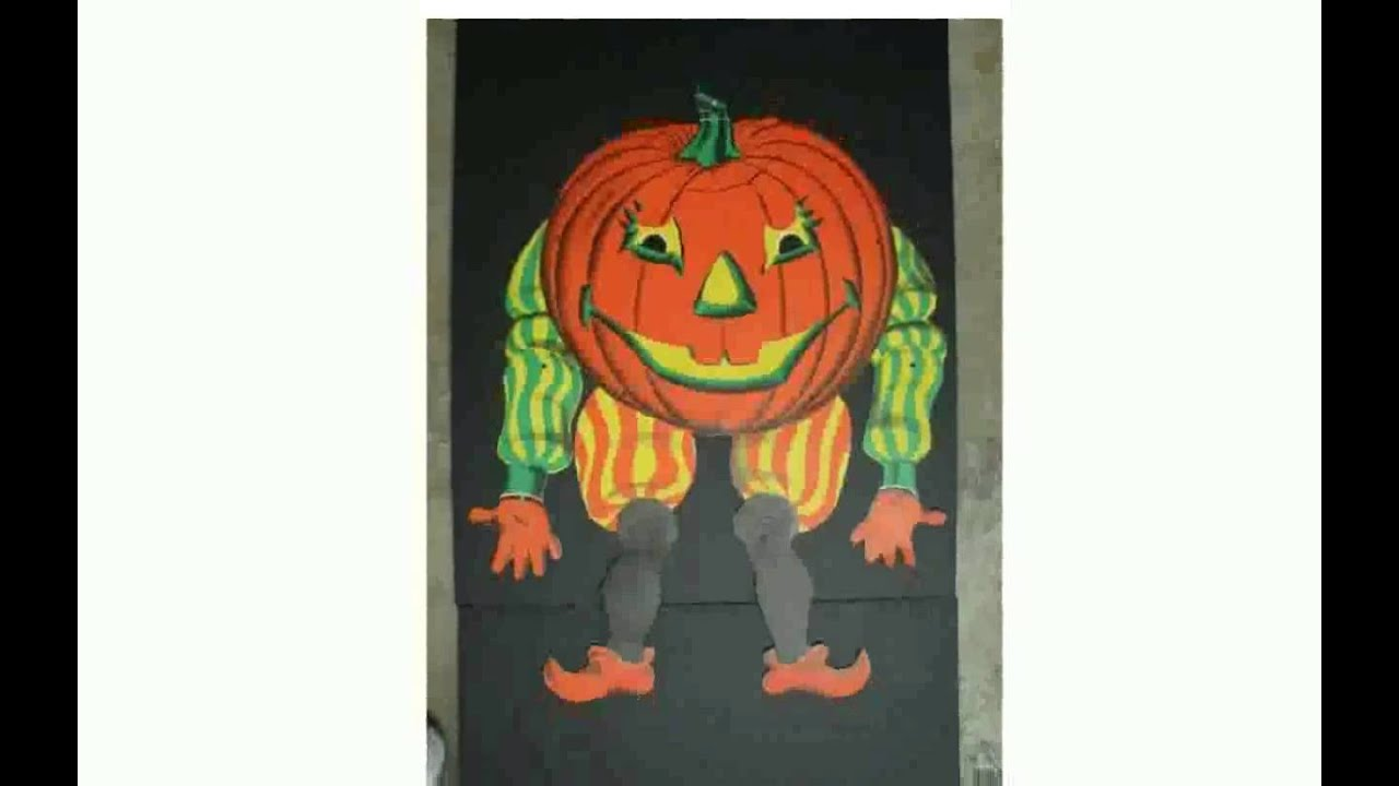 Vintage beistle halloween decorations -  Freyalados Beistle Halloween Decorations Youtube