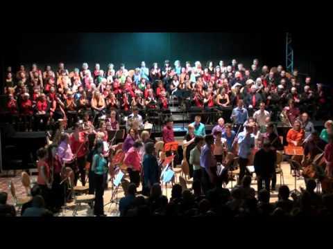 Casino Terrazur - Concert de l'Europe choeurs+solistes-extraits 12 6 2014