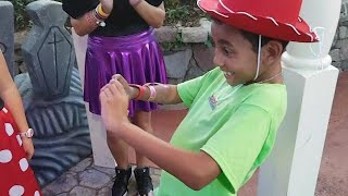 Boy is surprised with adoption in the most magical way