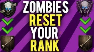 *NEW* Black Ops 2 Zombies- Reset Your Stats Online! (Doesn't Affect Leaderboards!)