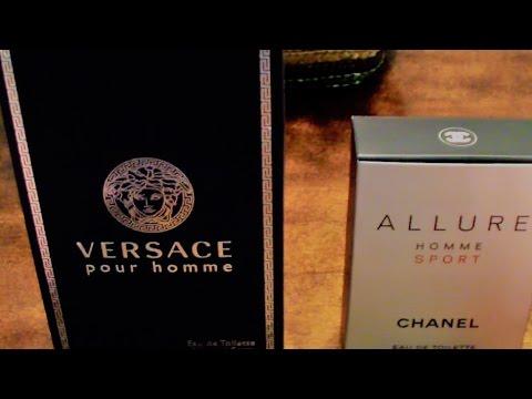 Chanel Allure Homme Sport vs. Versace Pour Homme - YouTube 06e744b7a66