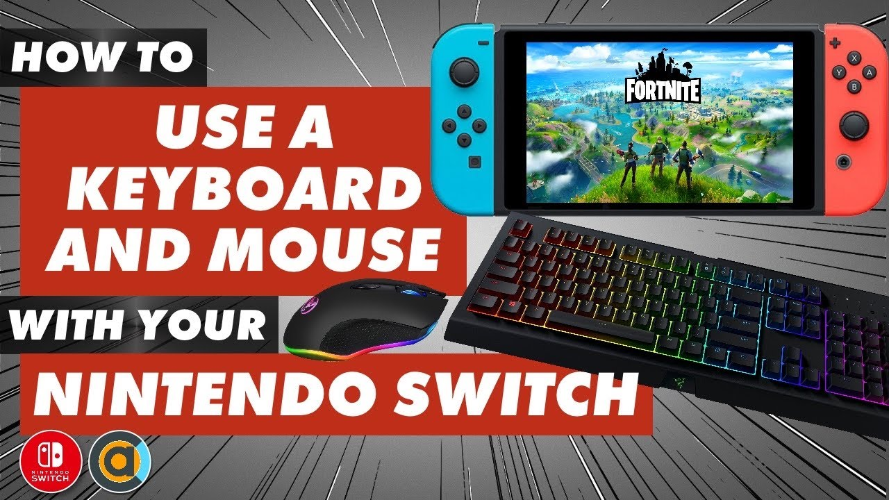 Use A Keyboard Mouse With Nintendo Switch Docked And Undocked Xim4 Xim Apex Alternative Youtube