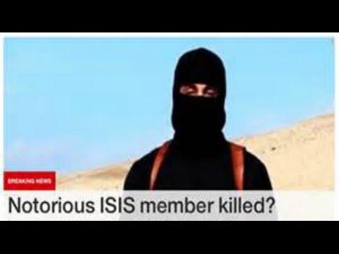 UK Jihadi John KILLED in US DRONE Airstrike in SYRIA Breaking News November 13 2015