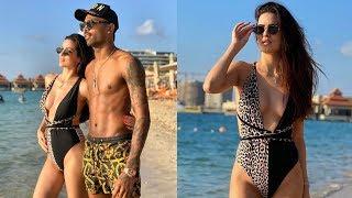 Natasa Stankovic VACATION Picture In Bikini With Hardik Pandya On The BEACH!