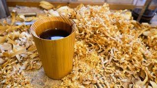 Making An Osage Orange Coffee Mug...Maybe Not A Good Idea!