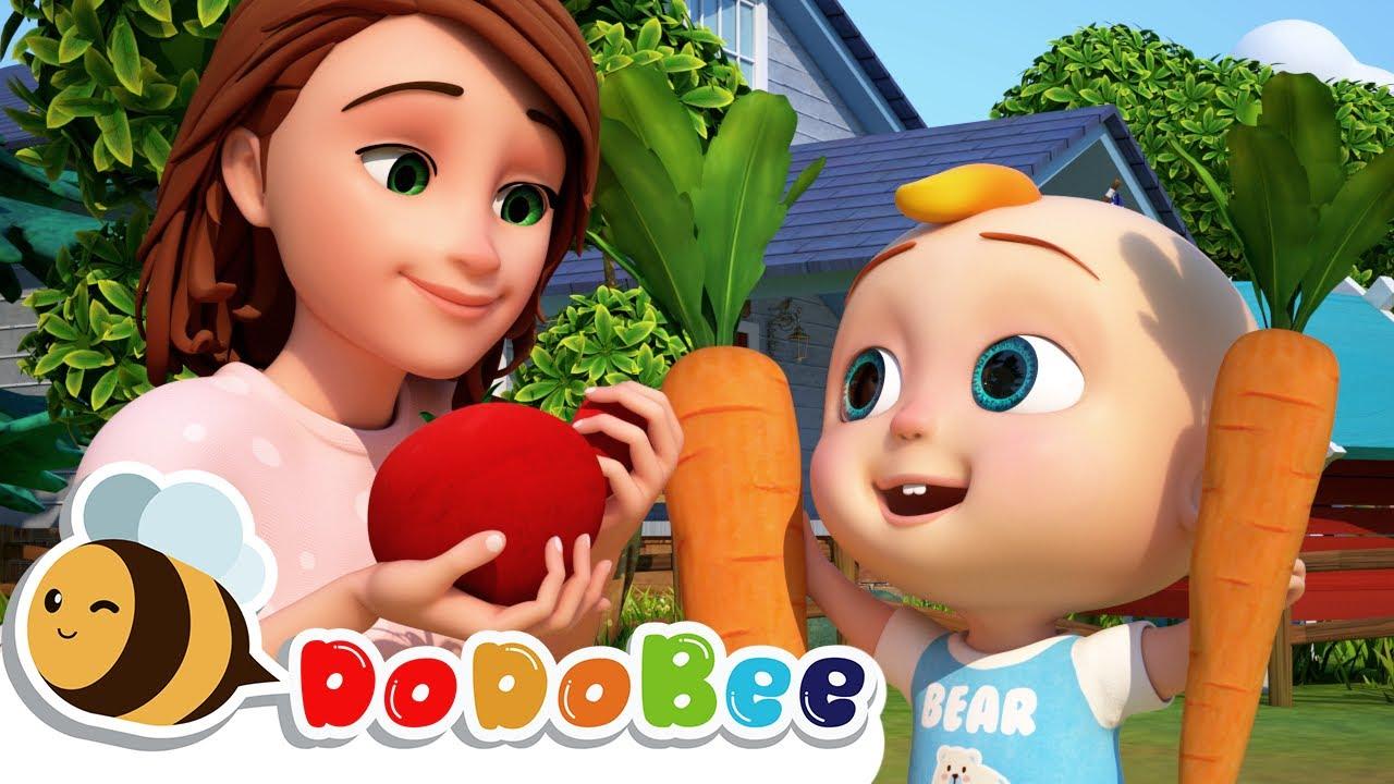 Yes Yes Vegetable Song - Best Nursery Rhymes & Kids Songs by DoDoBee - Kids Songs