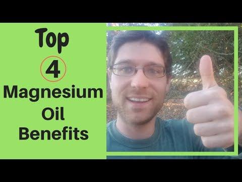 Magnesium Oil Benefits (4 Top Health Benefits) 2019 🧐