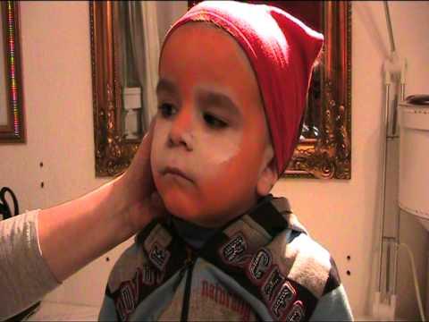 Anleitung Und Vorlage Zum Kinderschminken Lowe Youtube
