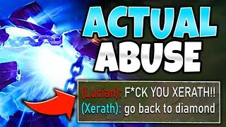 #1 XERATH WORLD EMBARRASSES MASTER LUCIAN!! (SCRIPTER AIM) - League of Legends