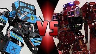 ROBOT DEATH BATTLE! -  BLASTER Super Anthony VS T5 HammerHead Shark (ULTIMATE ROBOT DEATH BATTLE!)